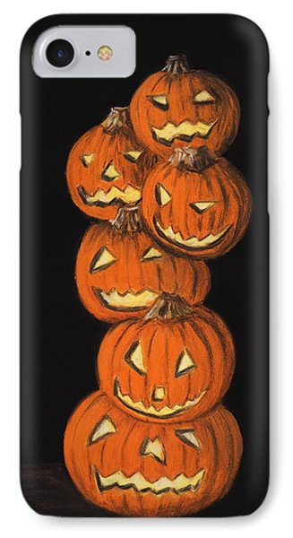 Jack-o-lantern Phone Case by Anastasiya Malakhova