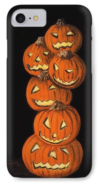 Jack-o-lantern IPhone Case