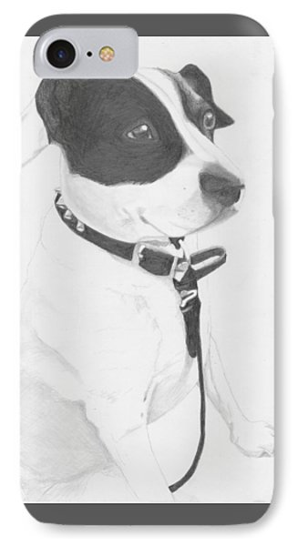 Jack Russell Cross IPhone Case by David Smith
