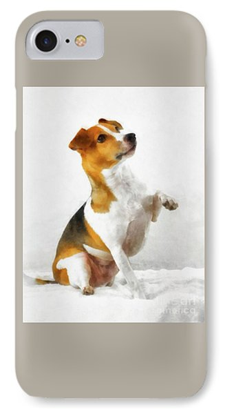 Jack Russell Terrier IPhone Case by Esoterica Art Agency