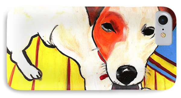 Jack Russell Terrior- Peanut IPhone Case