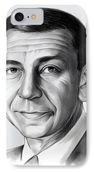 Jack Webb IPhone Case by Greg Joens
