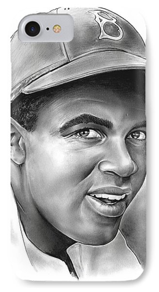 Jackie Robinson IPhone Case by Greg Joens