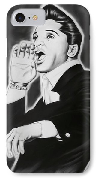 IPhone Case featuring the painting Jackie Wilson by Darryl Matthews