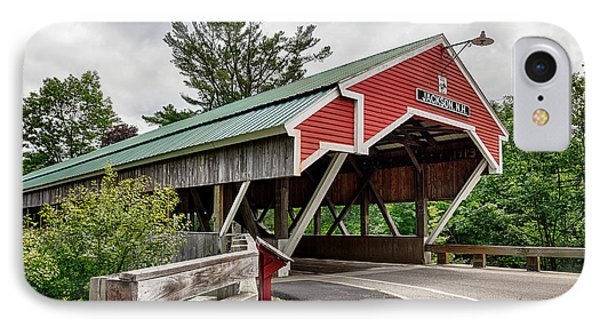 Jackson Covered Bridge IPhone Case by Betty Denise