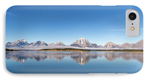 IPhone Case featuring the photograph Jackson Lake by Mary Hone