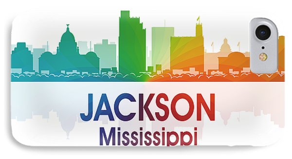 Jackson Ms IPhone Case by Angelina Vick