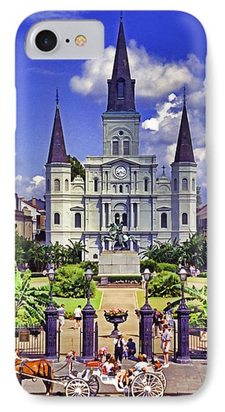 Jackson Square Phone Case by Dennis Cox WorldViews