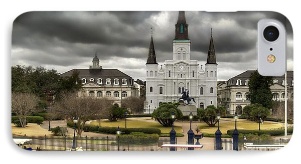 Jackson Square New Orleans IPhone Case by Don Lovett