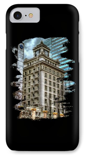 Jackson Tower Portland Oregon IPhone Case by Thom Zehrfeld