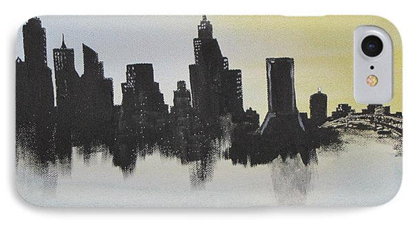 IPhone Case featuring the painting Jacksonville Florida by Gary Smith