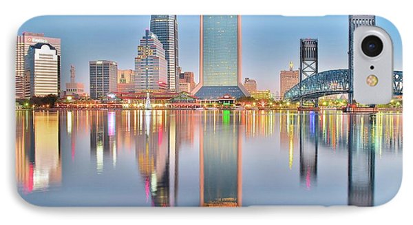 Jacksonville Reflecting IPhone Case
