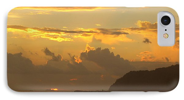Jaco Sunset Phone Case by Daniel  Taylor