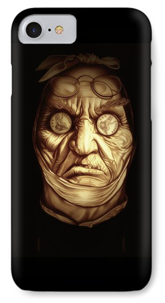 Jacob Marley IPhone Case by Fred Larucci