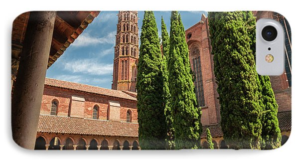 IPhone Case featuring the photograph Jacobin Convent In Toulouse by Elena Elisseeva