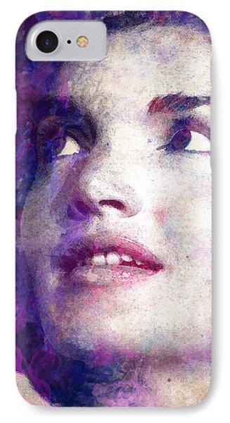Jacqueline Kennedy Onassis IPhone Case by Angela Boyko