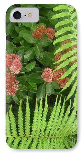 Jacqueline's Garden - Camaraderie Of Textures Too Phone Case by Lucyna A M Green