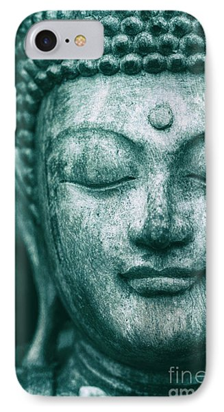 Jade Buddha IPhone Case by Tim Gainey
