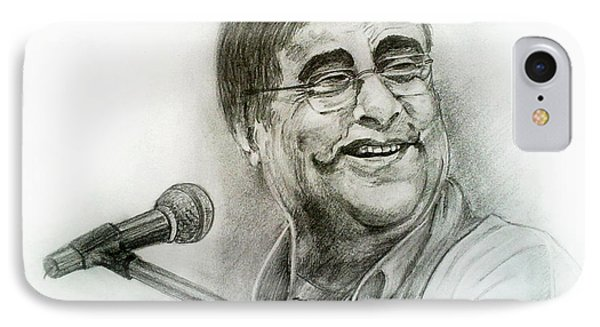 Jagjit Singh Phone Case by Mayur Sharma