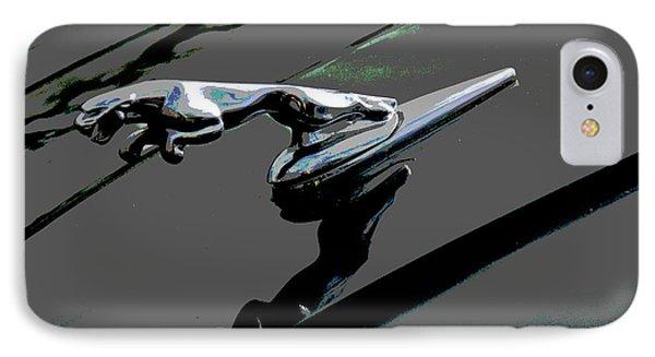 Jaguar IPhone Case by Cindy Manero