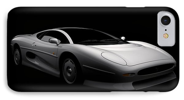 Jaguar Xj220 IPhone Case