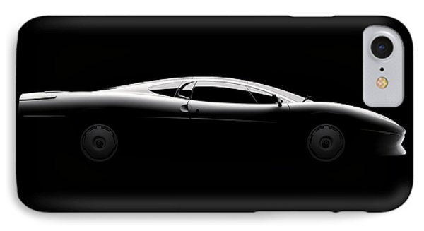 Jaguar Xj220 - Side View IPhone Case