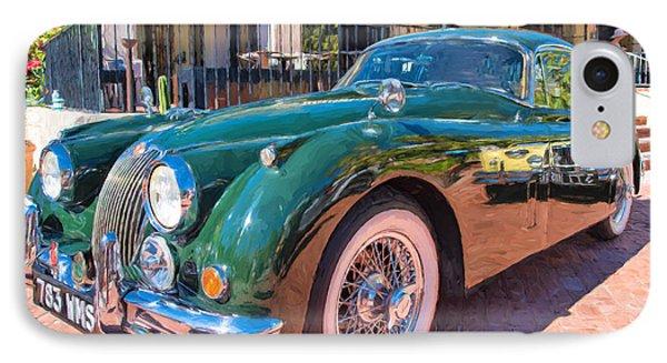 IPhone Case featuring the photograph Jaguar Xk Classic by Dan McManus
