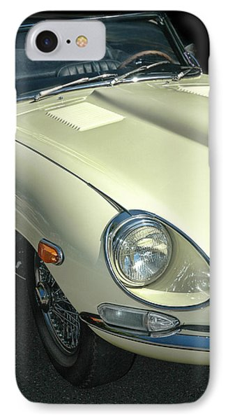 Jaguar Xke Roadster IPhone Case by Dave Mills