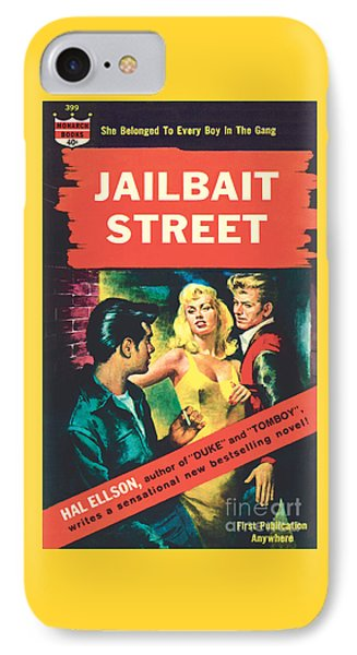 IPhone Case featuring the painting Jailbait Street by Ray Johnson