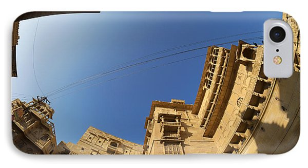 IPhone Case featuring the photograph Jaisalmer Fort by Yew Kwang