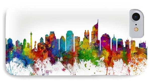 Jakarta Skyline Indonesia IPhone Case