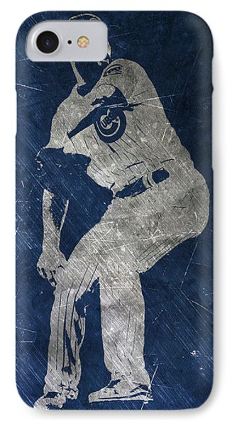 Jake Arrieta Chicago Cubs Art IPhone 7 Case by Joe Hamilton