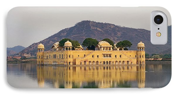 IPhone Case featuring the photograph Jal Mahal  by Yew Kwang