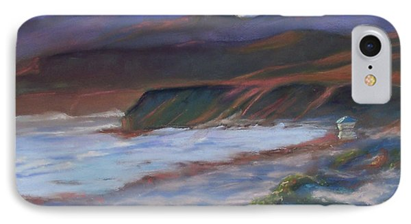 Jalama Beach At Sunset Phone Case by Laurie Paci