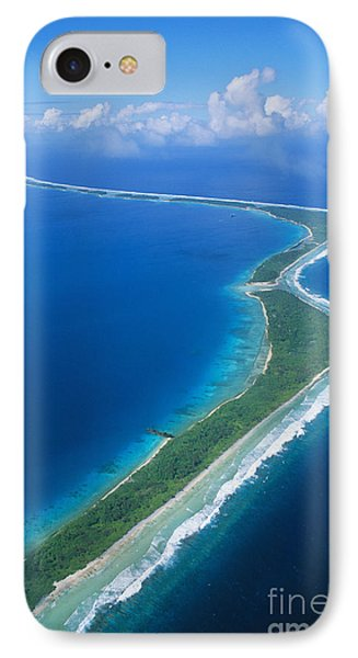 Jaluit Atoll And Lagoon Phone Case by Greg Vaughn - Printscapes