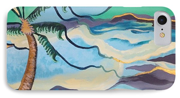 Jamaican Sea Breeze IPhone Case by Jan Steinle