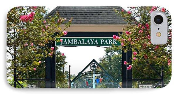 Jambalaya Park In Gonzales Louisiana IPhone Case