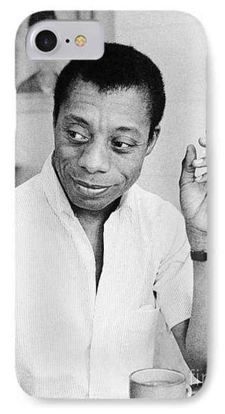 James Baldwin (1924-1987) IPhone Case by Granger