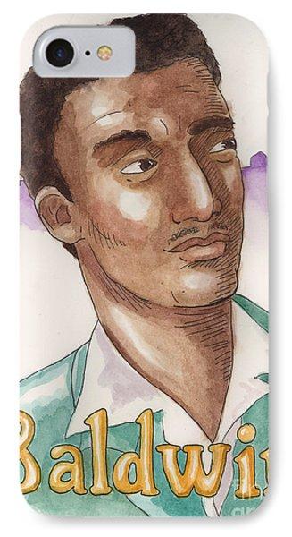 James Baldwin Phone Case by Whitney Morton