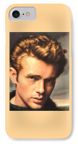 James Byron Dean Icon IPhone Case by Jay Milo