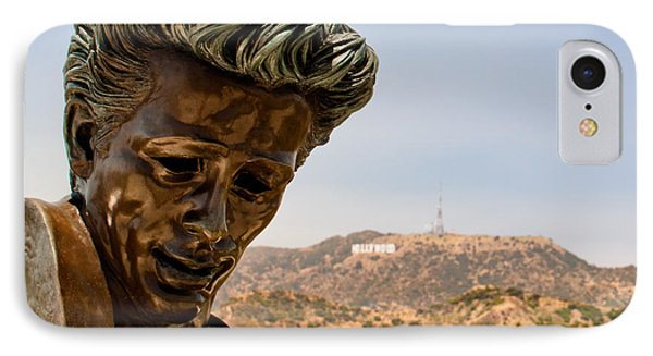 James Dean - Griffith Observatory IPhone Case by Natasha Bishop