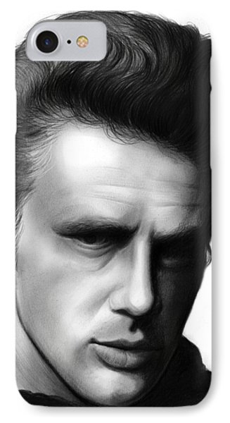 James Dean IPhone Case by Greg Joens