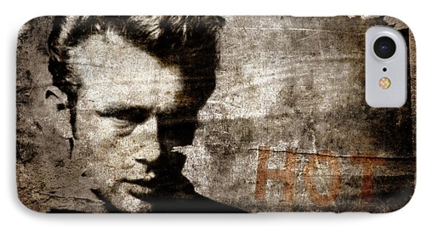 James Dean Hot IPhone Case by Carol Leigh