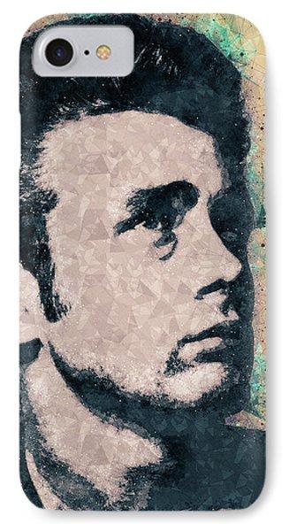 James Dean Portrait IPhone Case