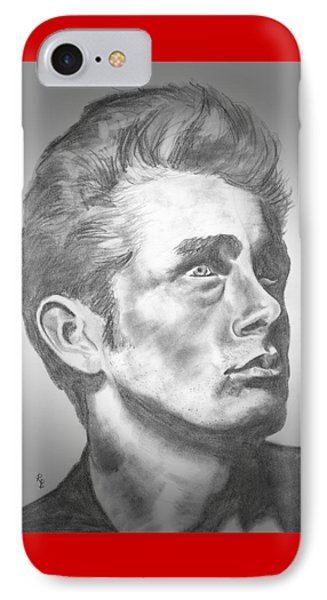 James Dean IPhone Case by Ryan Bell