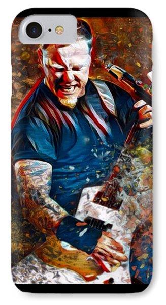 James Hetfield Metallica IPhone Case