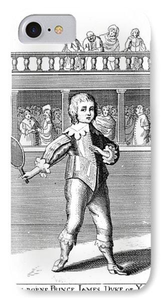 James II (1633-1701) Phone Case by Granger