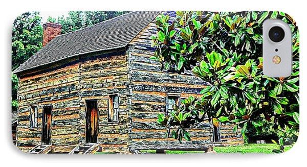 James K. Polk Boyhood Home IPhone Case by Bob Pardue