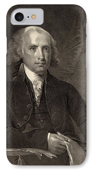 James Madison - Fourth President Of The United States Of America Phone Case by International  Images