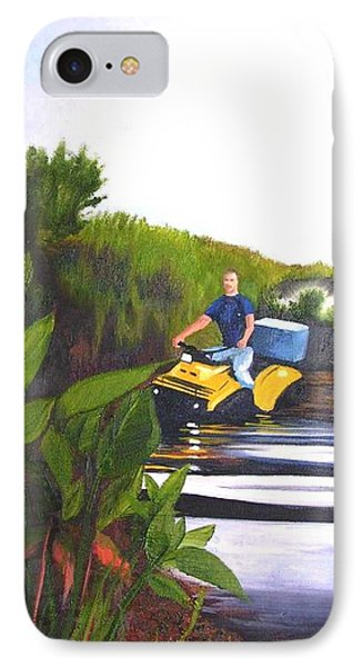 James On Fourwheeler IPhone Case